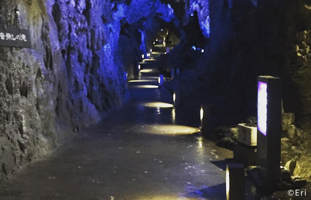 龍泉洞 洞内